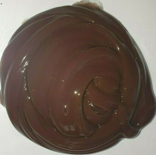 HUGE Fluffy DarkChocolate Un//Scented Clear Slime Adult KidsToy  Stress Relief