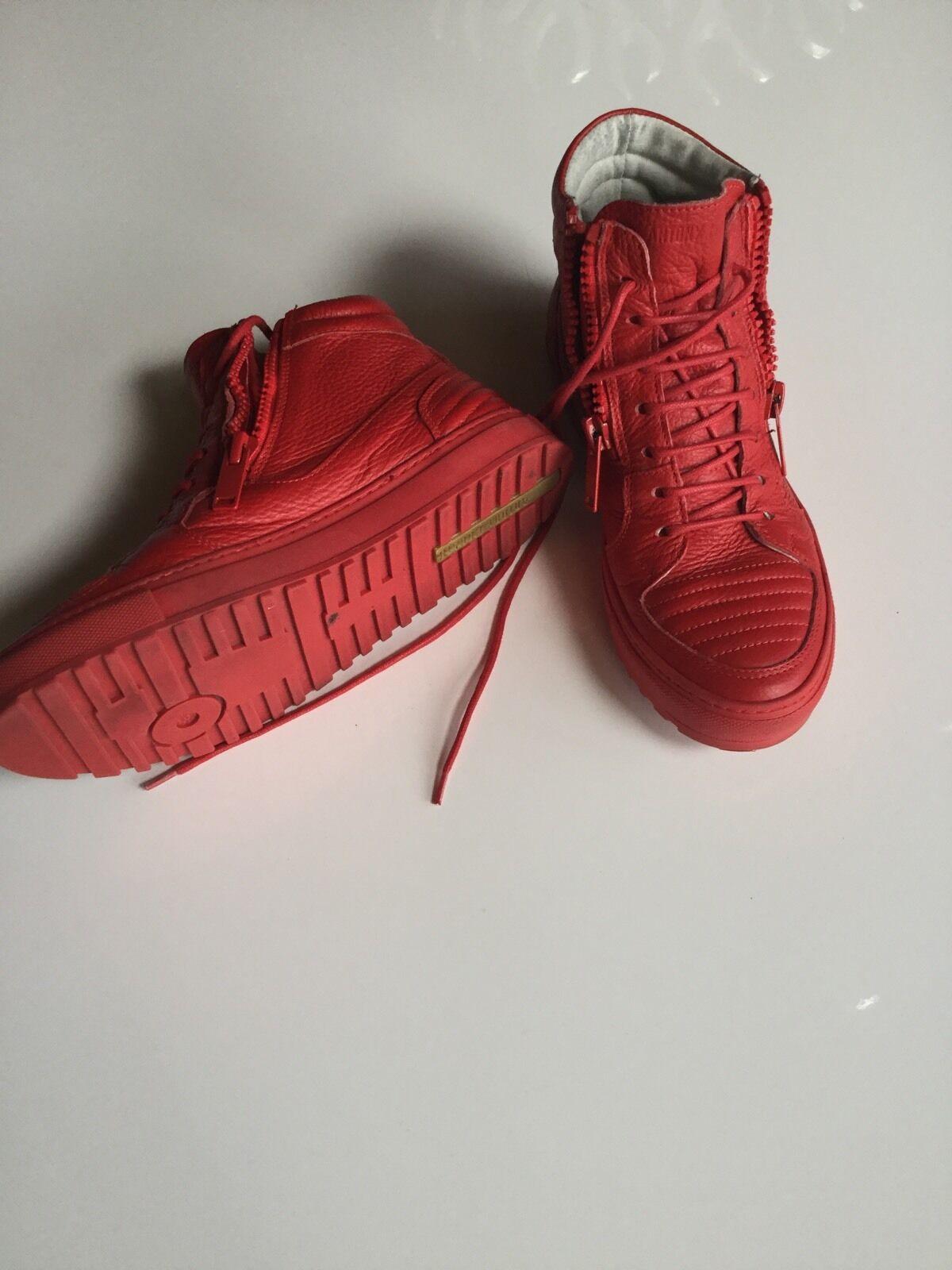 High Sneaker Chucks von der Marke Antony Morato Farbe Rot