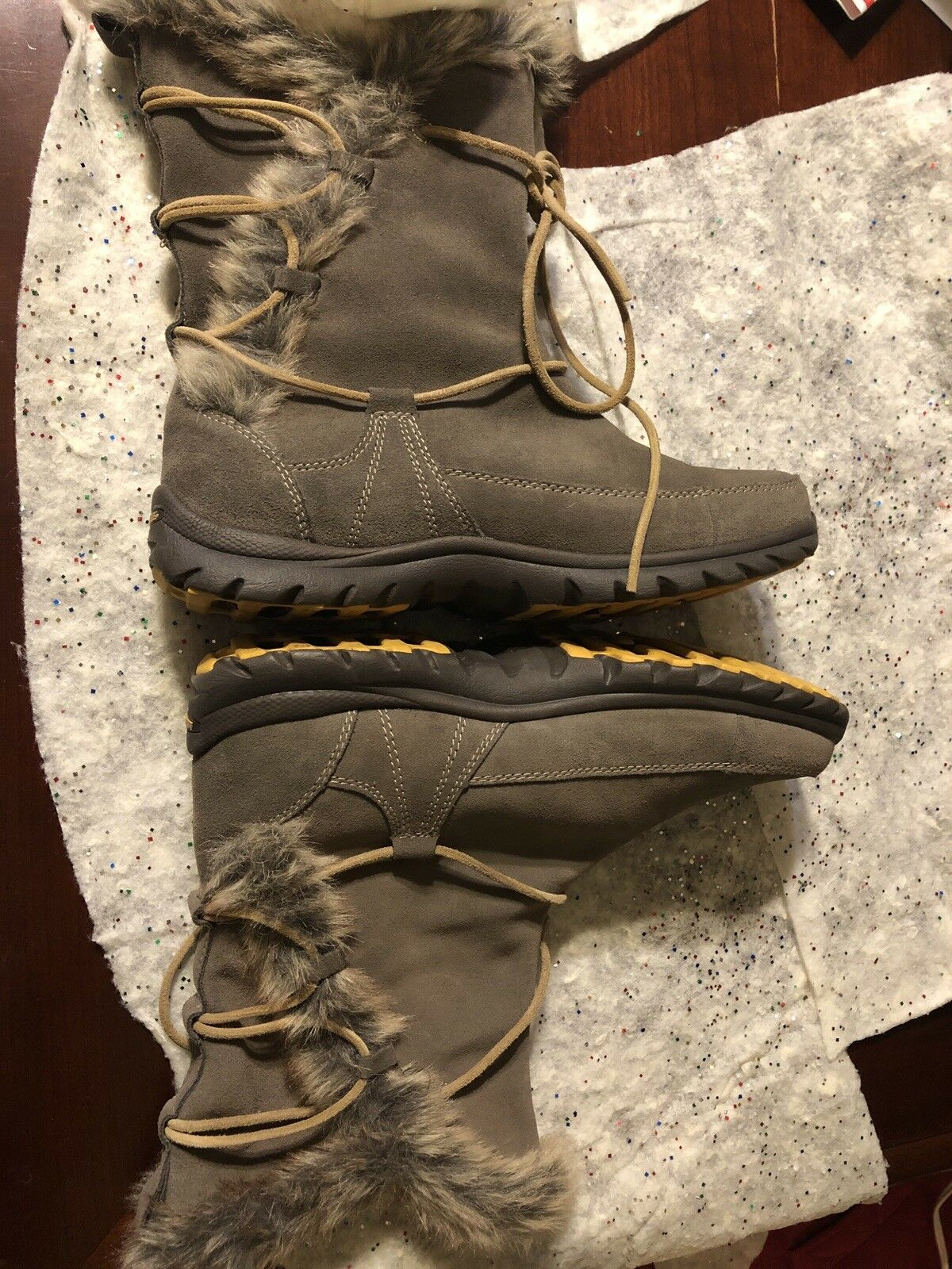 Mountrek-Ellie Lodge shoes-Boots shoes-Boots shoes-Boots Striking Women's Taupe Suze 7.5 New fced30