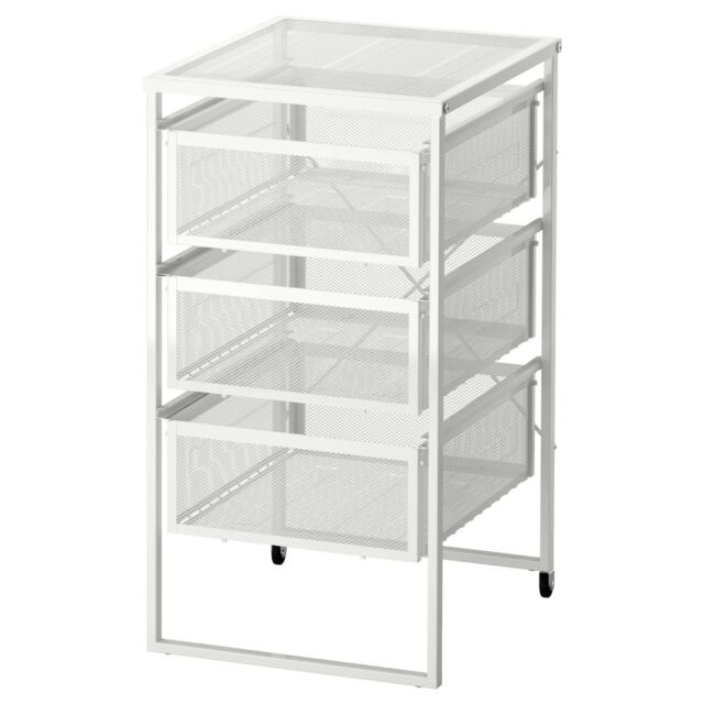 IKEA LENNART 3 Drawers Storage Unit + CastorsHome Office Shop Use 303.261.77  sc 1 st  eBay & IKEA Lennart 3 Drawers Storage Unit Castors Home Office Shop Use ...