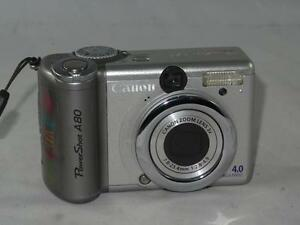 NEW DRIVERS: CANON A80 POWERSHOT