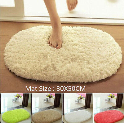 Sale Absorbent Soft Memory Foam Bath Bathroom Floor Shower Mat Rug Non-slip IXAC