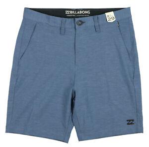 BILLABONG-Crossfire-x-Mid-Length-Submersible-Boardshorts-sz-29-Ocean-Blue-Shorts