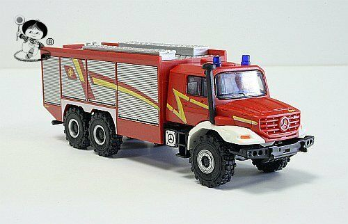 049993 HERPA Mercedes-Benz zetros tlf pompiers  ziegler-Design  h0