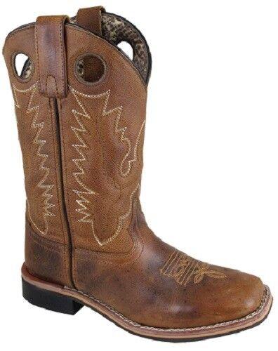 nuevo  Smoky Mountain botas Damas Western Cowboy - 10  Dedo Del Pie Cuadrado Cuero -