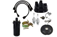 John Deere M 40 420 430 440 6v Distributor Ignition Tune Up Kit With Coil