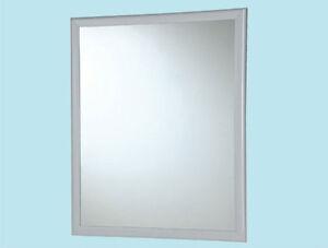 Specchio Con Cornice Per Bagno.Specchio Rettangolare Cm 50x60 Con Cornice Per Bagno Specchiera