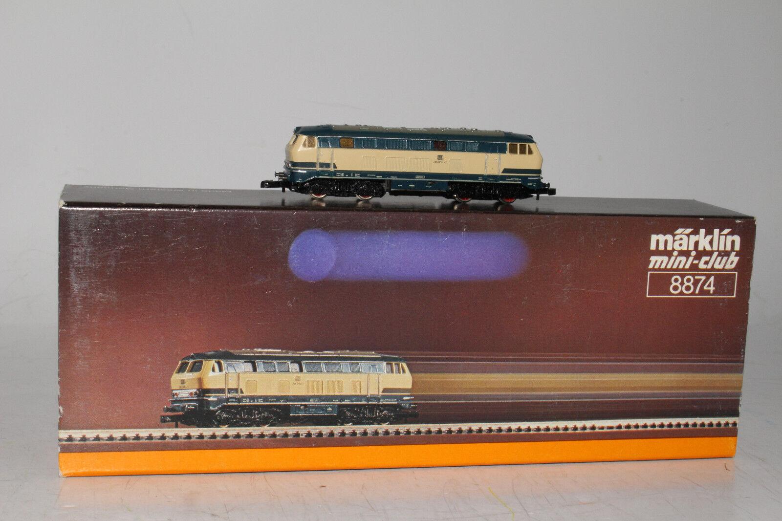 MARKLIN Z SCALE  8874, DIESEL LOCOMOTIVE ENGINE 216 090-1 C-9