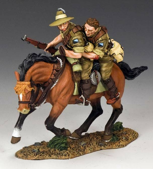 King & Country AL052 Hang On Mate  - RETIRED - Mint in the Box