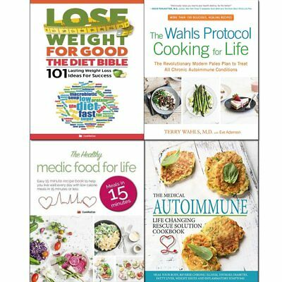 Wahls Protocol Cooking Healthy Medic Food 4 Books Collection Set NEW UK  9789123693603 | eBay