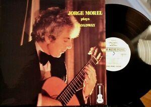JORGE-MOREL-LP-Plays-Broadway-GMR-1004-1982-NM