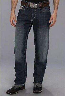 CINCH Men/'s White Label Relaxed Fit Medium Stonewash Jeans MB92834003-Indigo NWT