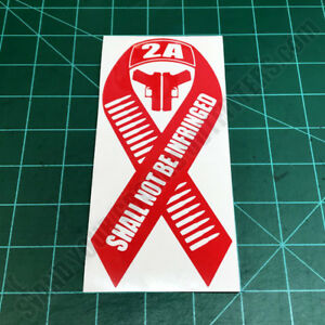 Shall-Not-Be-Infringed-Ribbon-2A-Second-Amendment-Patriotic-Decal-Sticker