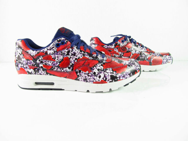 Nike Air Max 1 Ultra Lotc QS LONDON City Pack Floral NSW OG 747105 500 Sz 7.5