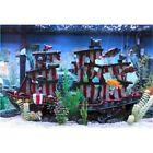 Penn-Plax Penn Plax Striped Sail Shipwreck Aquarium Decoration 2pc Large Over 19