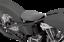 Drag Specialties Black Vinyl Spring Mounted Motorcycle Solo Seat Harley Davidson