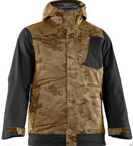 9c4410877bf1c Image is loading Under-Armour-ColdGear-Infrared-Electro-Snowboard-Jacket- Brown-