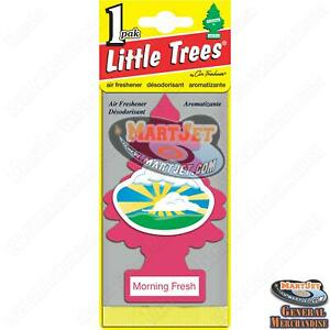 Little Trees - Morning Fresh Scent Car Mirror Hanging Air Freshener Home Office