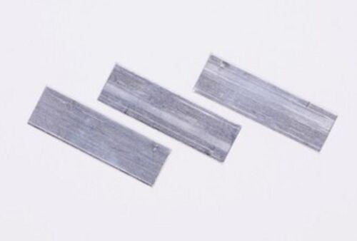 Confezione da 50 in Alluminio Giro Clip 40 mm x 12 mm IDEALE PER LEGNO A Effetto Serra