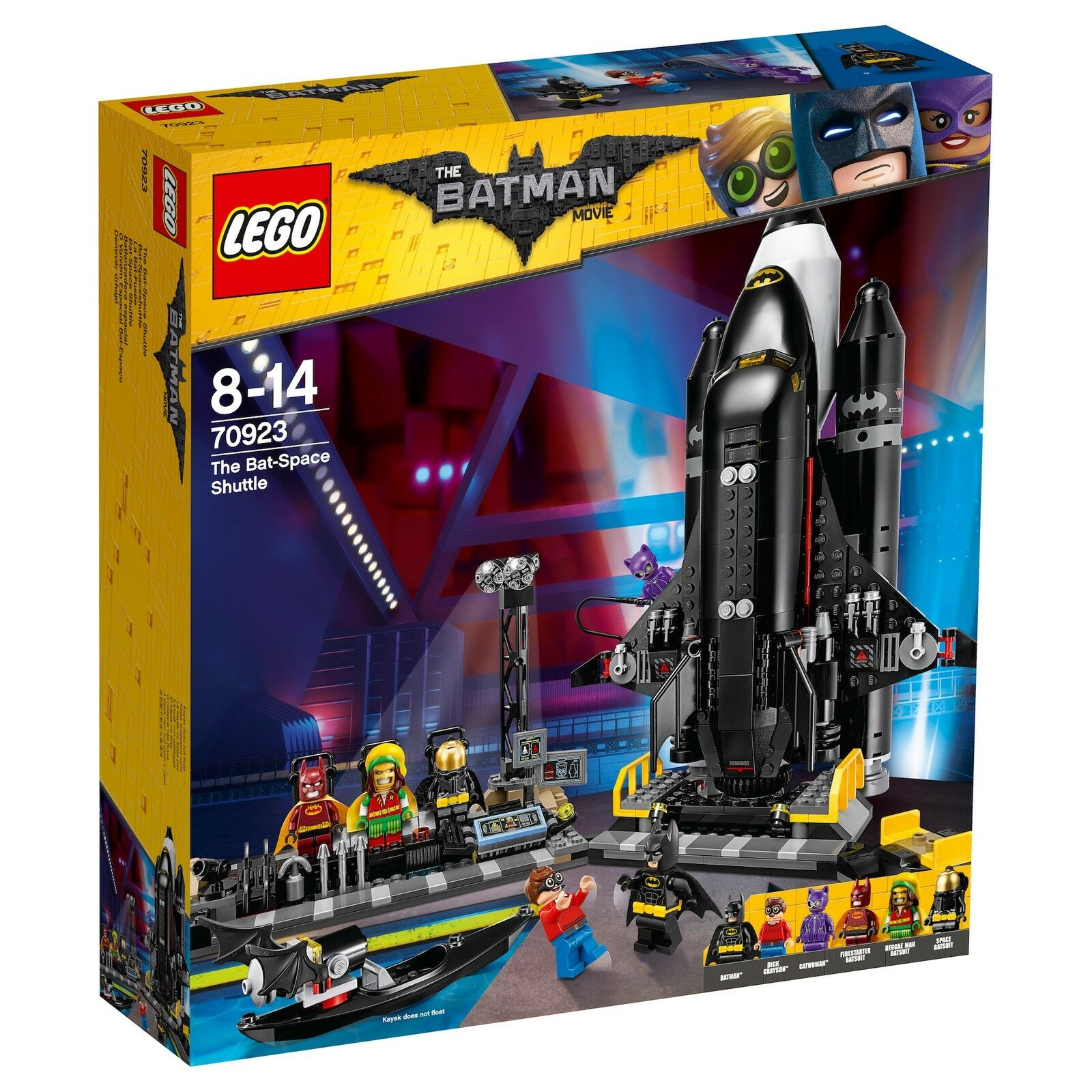 THE LEGO® BATMAN MOVIE 70923 Bat-Spaceshuttle NEU OVP_ The Bat-Space Shuttle NEW
