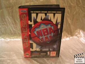 NBA Jam (Sega Genesis, 1994) No Inst.