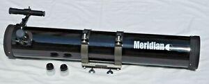 Meridian-4-5-034-Reflector-Astonomical-Barrel-with-Optical-Scope-amp-2-Eyepieces