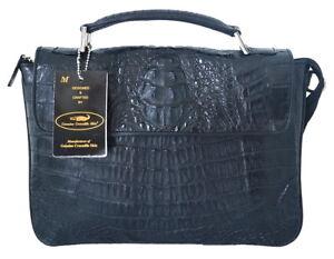 de hombro Hornback cocodrilo negro genuino de 100 nuevo de piel Bolso 8111164767554 Bolso wIqn5tSxna