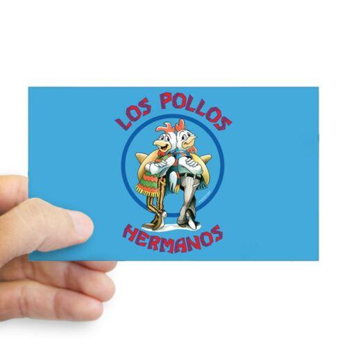1359660651 CafePress Los Pollos Hermanos Rectangle Bumper Sticker Car Decal