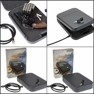 Handgun Pistol Safe Lock Box Cash Jewelry