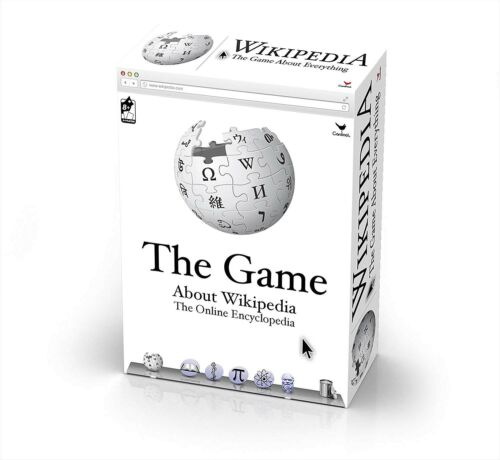 WIKIPEDIA The Game Great Trivia Game About 300 Wikipedia Topics