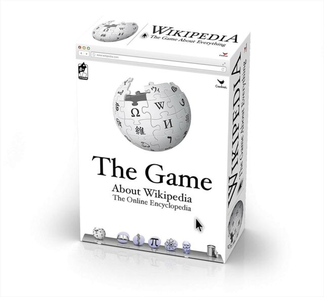 WIKIPEDIA The Game - Great Trivia Game About 300 Wikipedia Topics