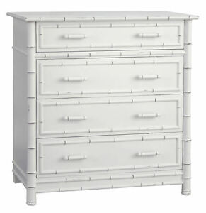 Faux Bamboo Dresser Redford House Chest Select 25 Wood Unique Paints Stains New