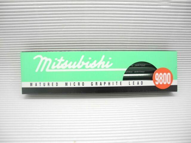 Made in Japan 12pcs Mitsubishi 9800 4B Matured Micro Graphite Lead