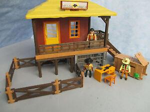 4826 Ombati Safari Station Zäune Figuren Transportbox Afrika Playmobil 1119