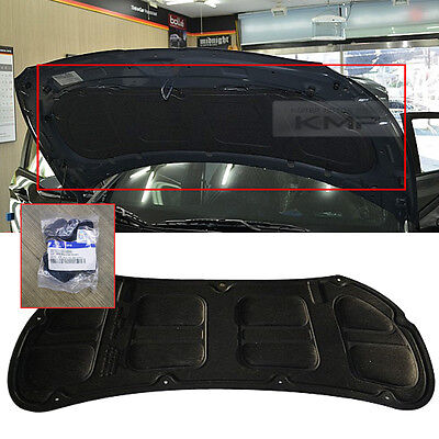 For HYUNDAI 2011 - 2016 Accent OEM Genuine Parts Front Bonnet HOOD INSULATOR PAD