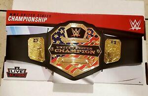 WWE Mattel Elite US United States Championship Title Belt WWF WCW