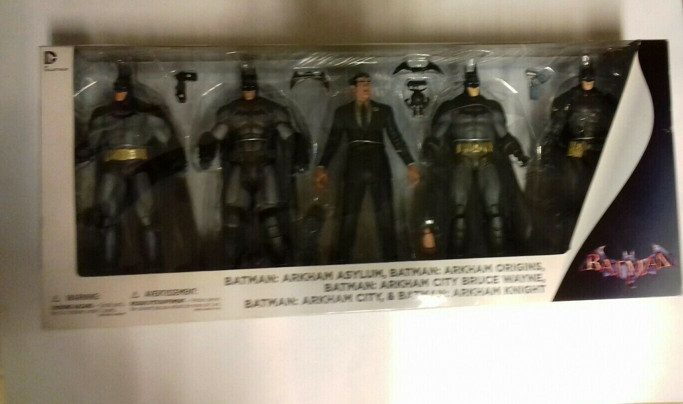 DC Collectibles Batuomo Arkham 5cifras set PVC  , DC DIRECT , NUEVO.