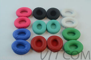 Replacement-Ear-Pads-Cushion-For-Beats-By-Dr-Dre-Solo-HD-Drenched-Headphones-z2