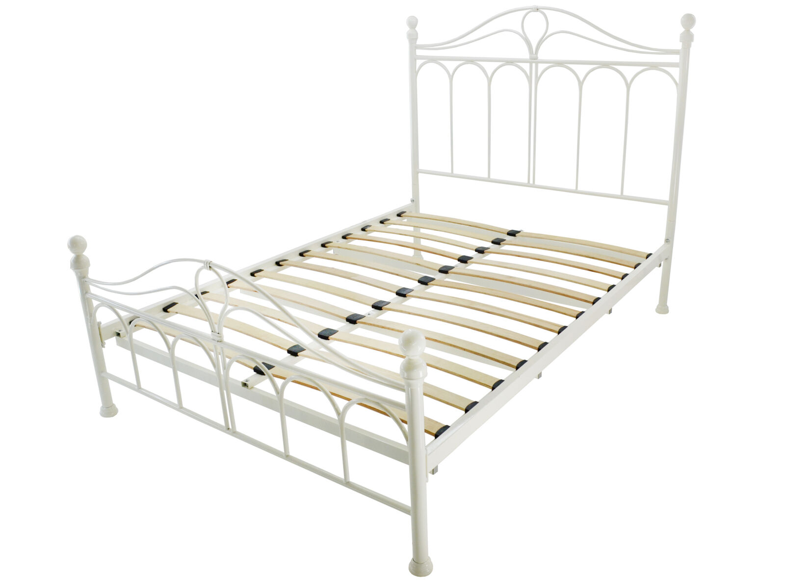Picture of: Omega Wooden And Metal Grand Bed Frame Double For Sale Ebay