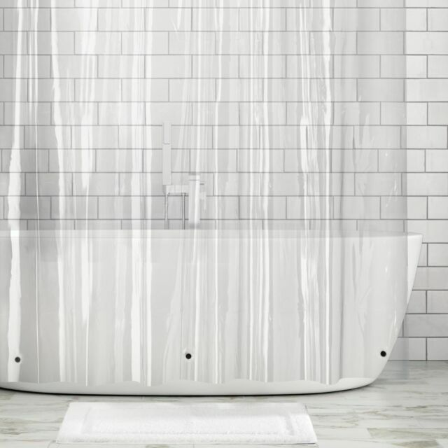 54x78 Stall Shower Curtain Underwater, What Does Stall Size Shower Curtain Mean