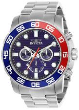 Invicta Mens 22225 Pro Diver Quartz Chronograph Blue Dial Watch