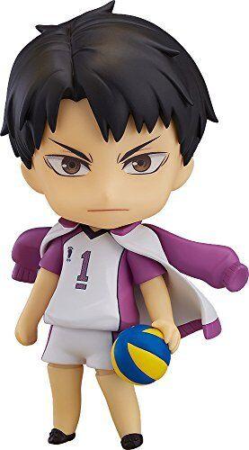 Nendoroid 789 Haikyu Haikyu Haikyu Wakatoshi Ushijima Statuetta Good Smile azienda da Giappone b26395