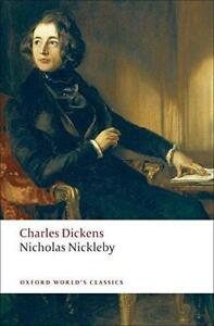 Nicholas-Nickleby-Oxford-World-039-s-Classics-by-Charles-Dickens-NEW-Book-FREE