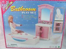 Barbie Size Dollhouse Furniture bathroom NEW