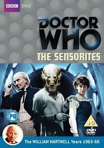 Doctor-Who-The-Sensorites-Regione-2-DVD-Sigillato-Nuovo-Dr-Who