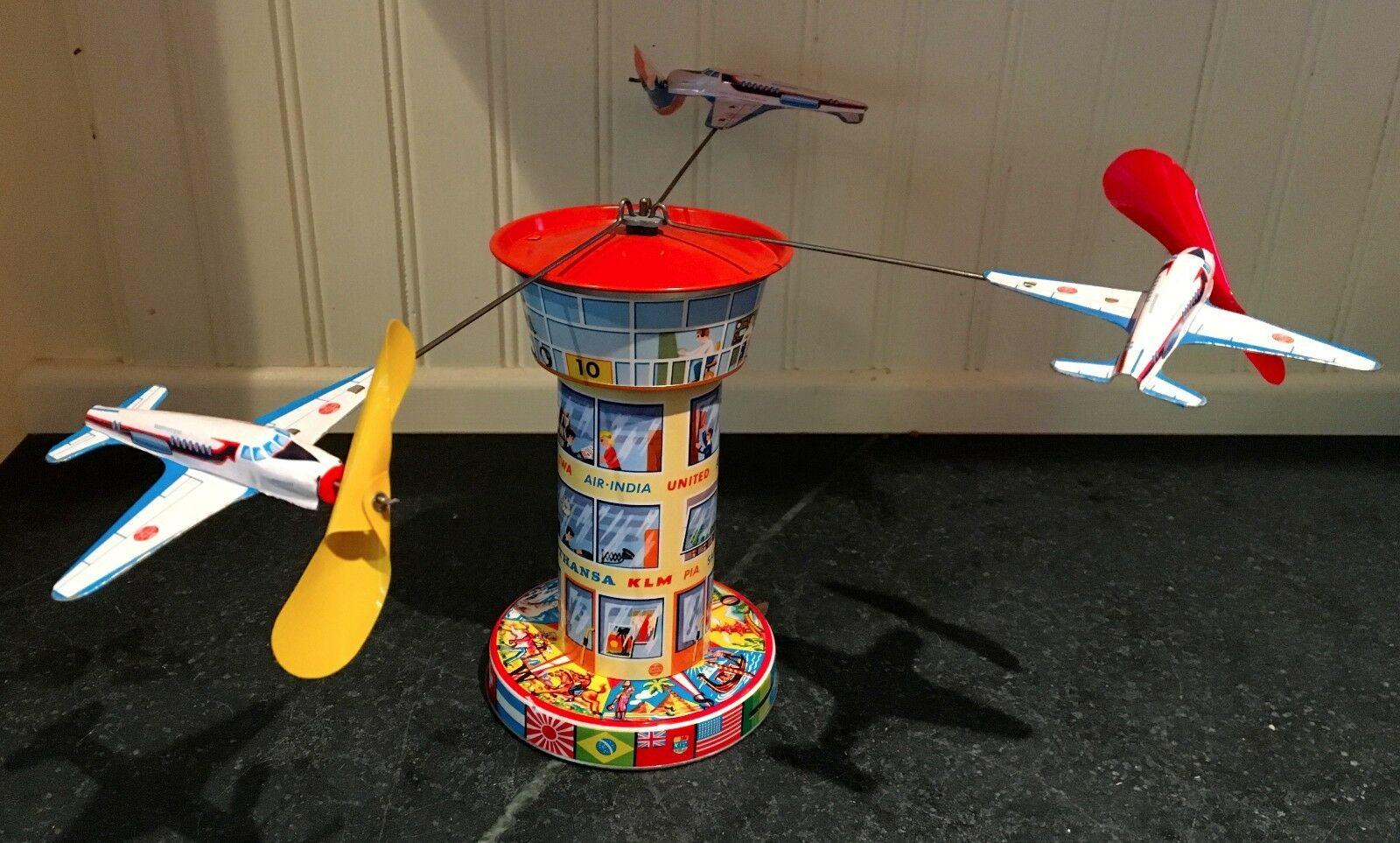 Schopper  Airport Traffic Traffic Control Tower Carousel  1960s  West Germany