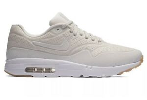 sports shoes 82342 3b97d Image is loading NIKE-AIR-MAX-1-ULTRA-MOIRE-PHANTOM-WHITE-