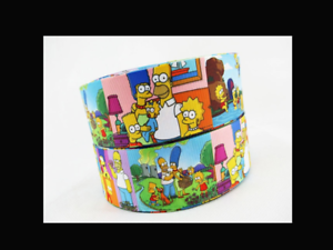 """The Simpsons Ribbon 38mm wide 1m long 1.5/"""""""