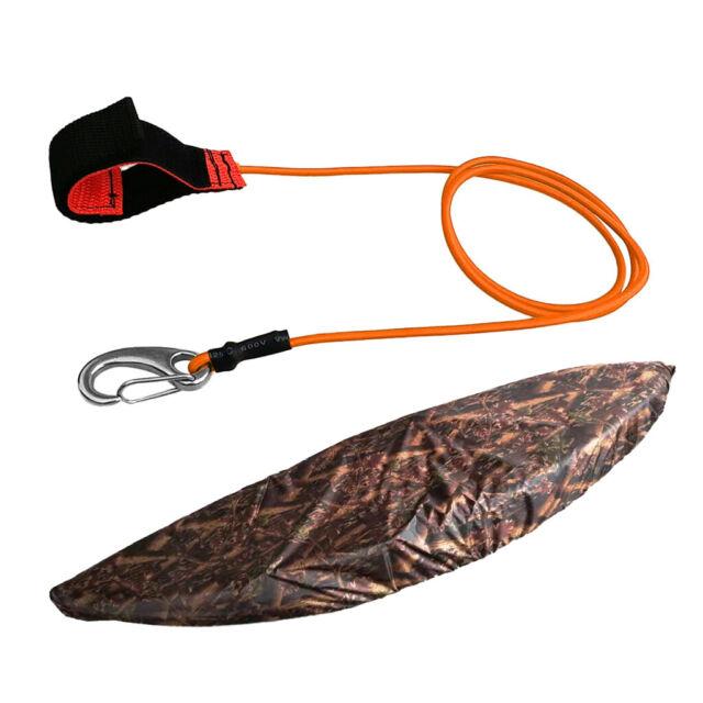 3.5m-6m Kayak Canoe Storage Dust Cover Sunblock Shield Guard /& Paddle Leash