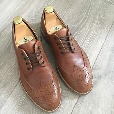 Boemos Leather Brogues / Loafers UK SIZE 9 Brand New